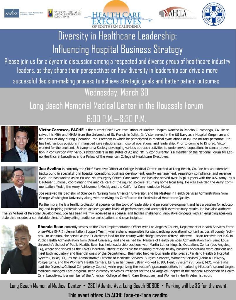 diversity in role in leadership